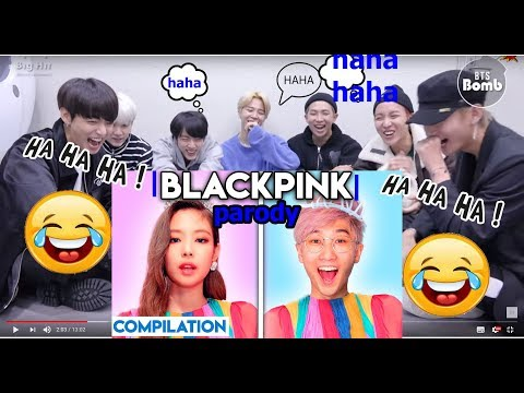 BTS reaction To  KILL THIS LOVE -  LankyBox