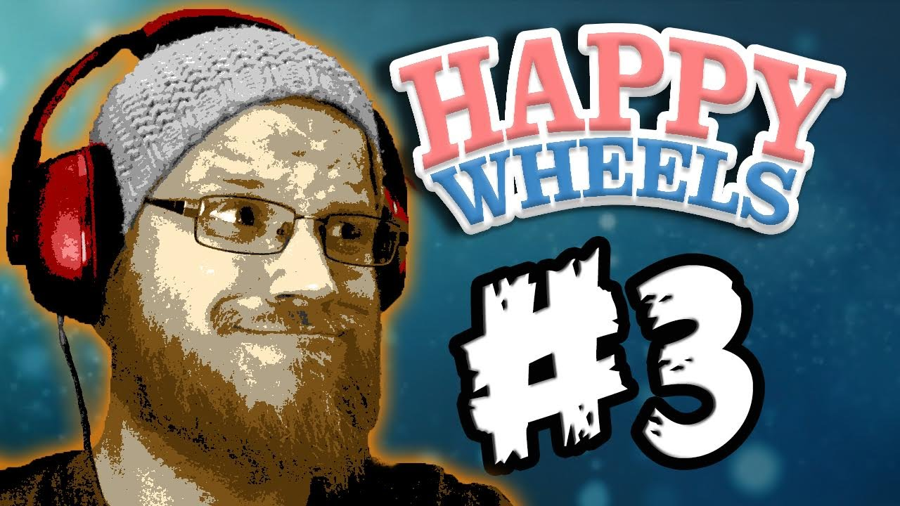 Lets play happy wheels 3 spikes and dongers full - Let s play happy wheels ...