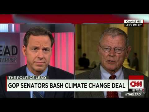 CNNs Jake Tapper interviews James Inhofe