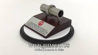 Oilfield Pipeline Plaque Award JHM#80 Downstream Oil & Gas