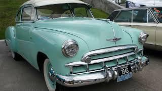 Ретро автомобили 1949 Chevrolet Deluxe compilation