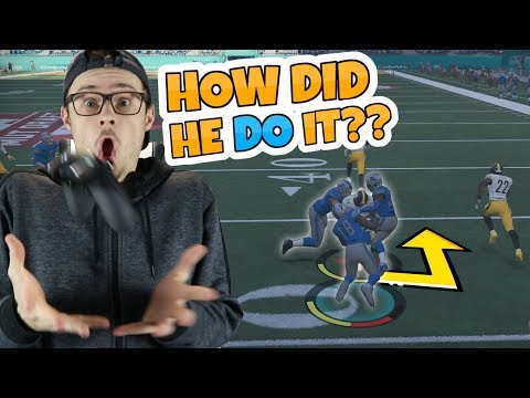 I PROMISE THAT YOU WON'T BE ABLE TO WATCH THIS KICK RETURN JUST ONCE!! Madden 18 RTE