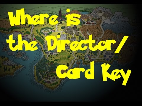 Where Is: The Director/Card Key (Pokemon Gold/Silver/Crystal)