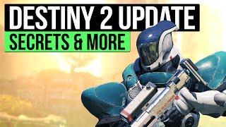 DESTINY 2 NEWS  | Luke Smiths D2 Secret, Voidwalker in Beta, Returning Characters & Weapon Rolls!