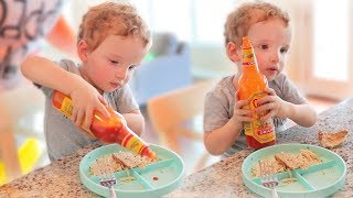 1yr Old Loves Hot Sauce!!
