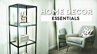 ULTIMATE PINTEREST APARTMENT MUST HAVES | ROOM DECOR ESSENTIALS (BUDGET FRIENDLY) 2018