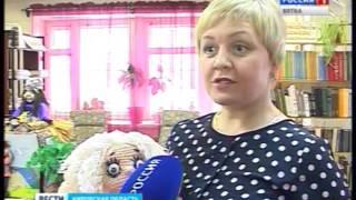 В библиотеке № 3 города Кирова ''ожили'' герои сказок (ГТРК Вятка)