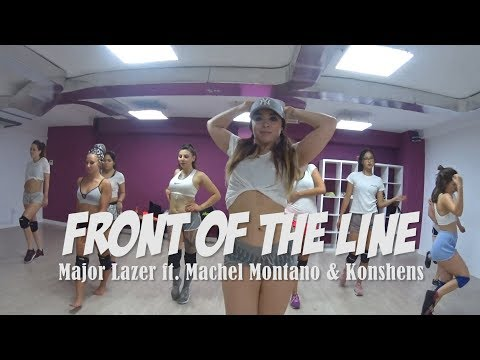 Front of the line - Major Lazer ft. Machel Montano & Konshens | Yohanna Almagro Choreography