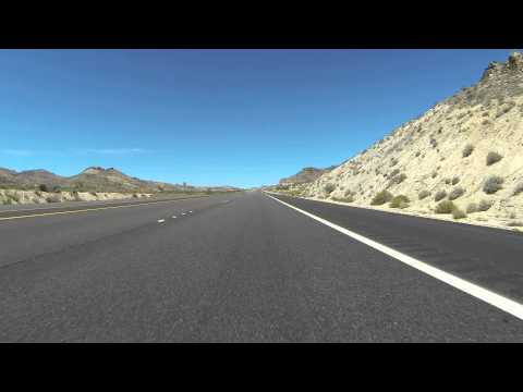 Nevada State Route 163 & U.S. Route 95 North from Laughlin, NV, 4 August 2015, GP013873