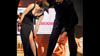 When Big B almost caused Akshara to suffer a wardrobe malfunction - BT
