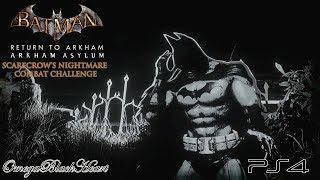 Batman: Return to Arkham- Arkham Asylum: Scarecrow