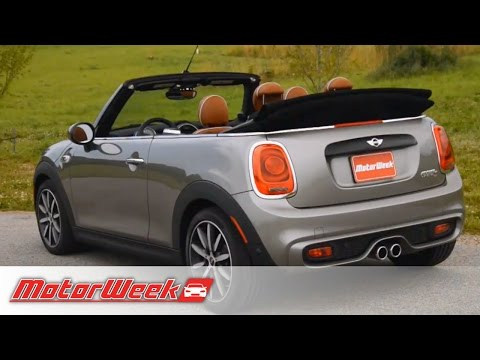 Road Test: 2016 Mini Cooper Convertible - All Inclusive Droptop