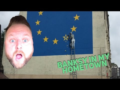 Dover Has a Banksy!! | Arron Crascall