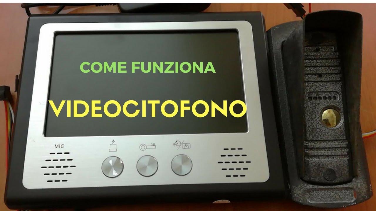Videocitofono Collegamento E Funzionalità