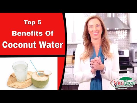 Top 5 Benefits Of Coconut Water - VitaLife Show Episode 315