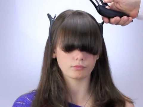 ways to style short hair with bangs how to cut bangs and fringes the new way with freestyla 3799 | hqdefault