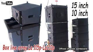 Box line array la115p-la110p