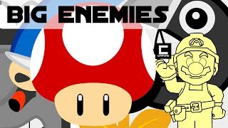 "Tips, Tricks and Ideas with Big Enemies in Super Mario Maker or ""The Mushroom Championship 1/2"""