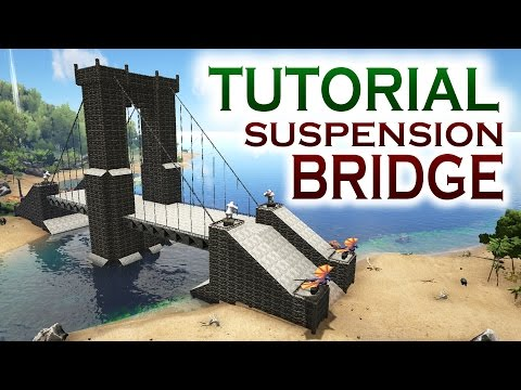 How to build a bridge in ARK Survival Evolved