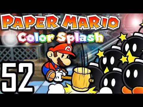 ON CAUSE LA PLUS GROSSE EXPLOSION AU MONDE ! | Paper Mario Color Splash #52
