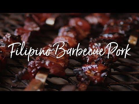 Filipino Barbecue Pork with Achara