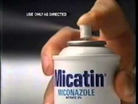 Micatin commercial from 1984