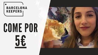 Comer en Barcelona barato ¿5 euros?