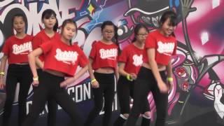7 中華基督教會方潤華中學 中學組排舞 Rookie Sta