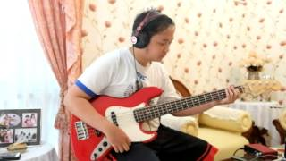 Walking with the bass-Barry Likumahuwa Project (bass cover)