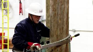 Lineman Training: Climbing Techniques for a Beginning Student