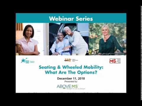 Seating and Wheeled Mobility: What are the Options?