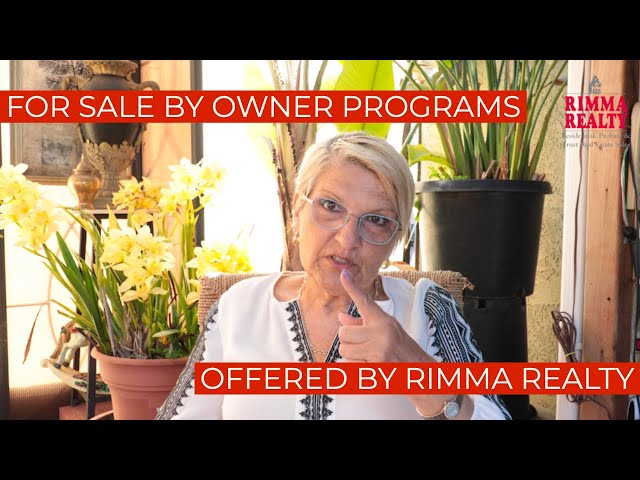 For Sale By Owner Programs Offered by Rimma Realty