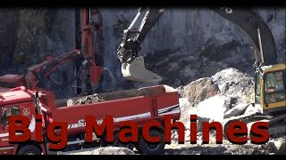 Big machines at work
