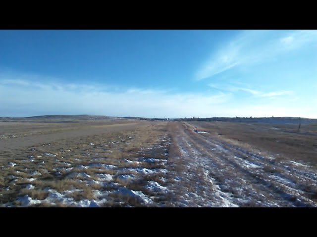 Cessna 170B departs Runway 35 at the Calhan Colorado Airport.