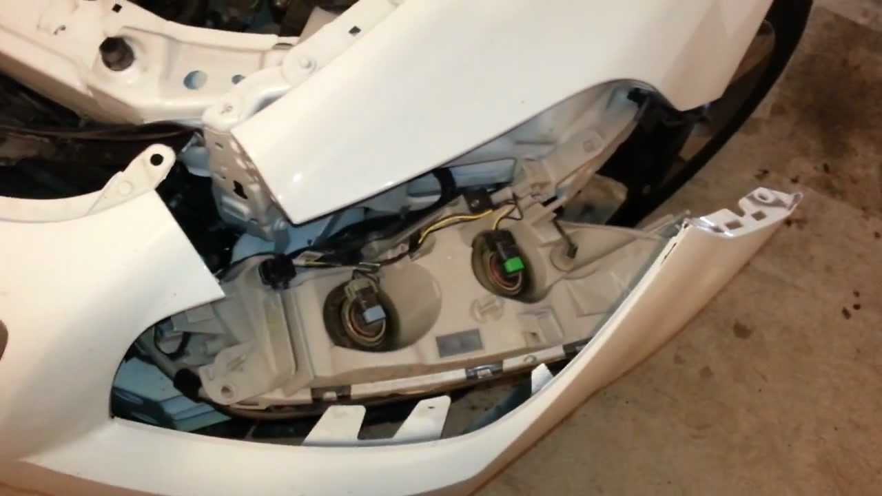2011 GM Chevy Malibu - Finally Got Access To Headlight Bulbs After ...
