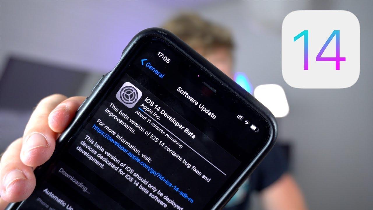 Installer iOS 14 sans ordinateur ni compte développeur sur votre iPhone !