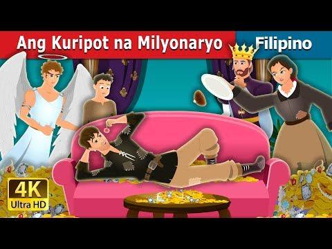 Ang Kuripot na Milyonaryo | The Millionaire Miser Story | Kwentong Pambata | Filipino Fairy Tales