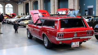 Ford Mustang Sport Wagon V8 Sound auf der Classic Remise