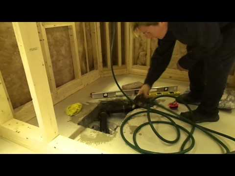Basement Floor Drain Replacement With A Dranjer J N6 Avi