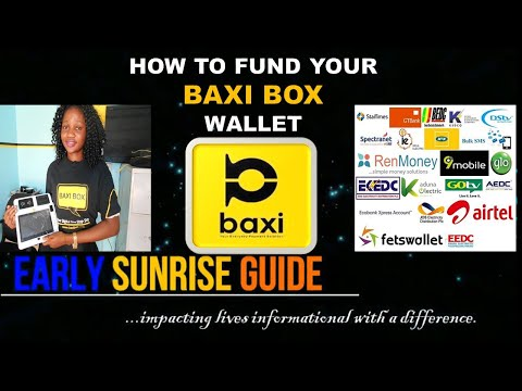 How to Fund Your Baxi Box Wallet ~ Early Sunrise Guide