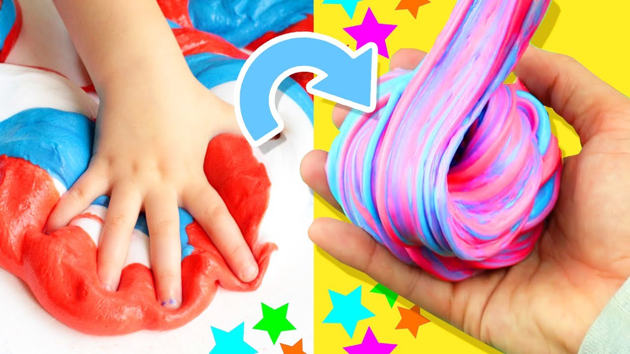 Coolest 4th Of July Slime! ˜�  Diy Fluffy Slime Tutorial How To Make The  Best Slime