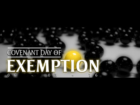 Bishop David Oyedepo:Covenant Day Of Exemption:5 Live Services-Sunday March 6,2016