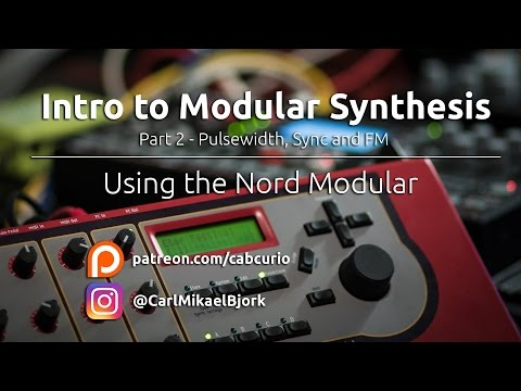 Intro to Modular - Part 2: Pulsewidth, Sync and FM (lead and pad)
