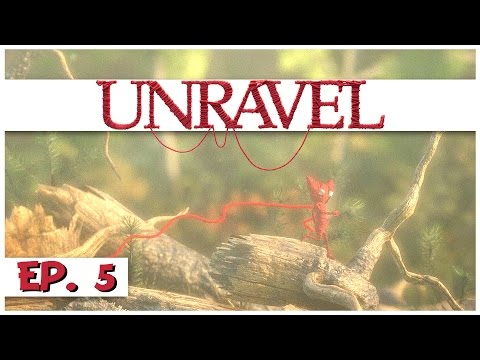 Unravel - Ep. 5 - The Berry Mire! - Let's Play Unravel Gamep