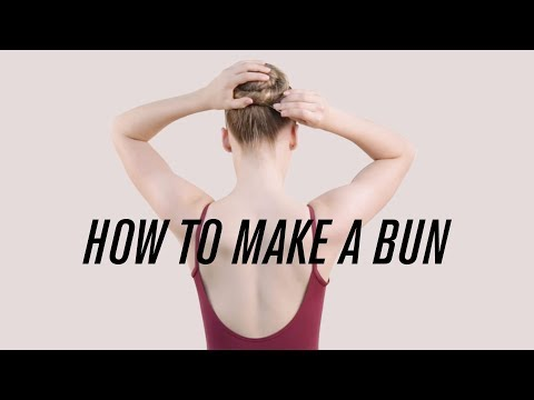 How to Make the Perfect Ballet Bun