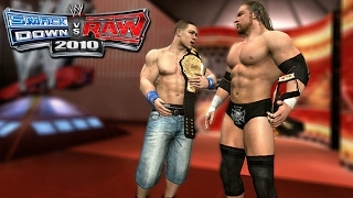 "WWE Smackdown Vs. Raw 2010 Road To Wrestlemania Ft. John Cena & Triple H Part 1 - ""Brand Warfare"""