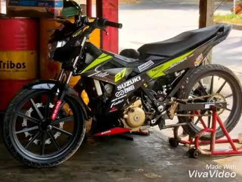 Modifikasi Satria Fu Fi Road Race 2018 Youtube