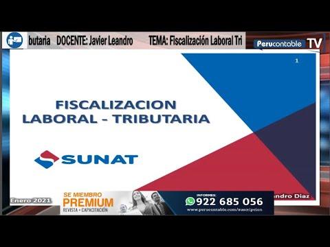 Fiscalización Laboral Tributaria