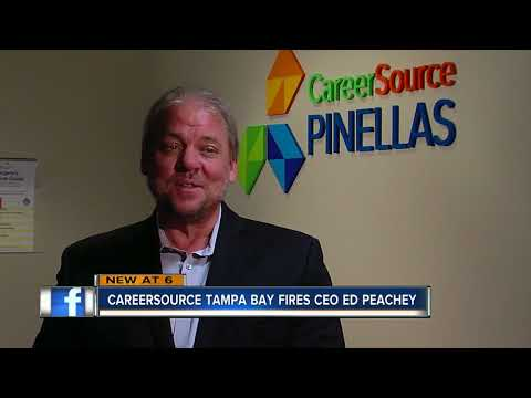 CareerSource Tampa Bay votes to fire President and CEO Edward Peachey