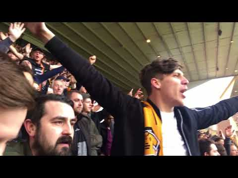 WOLVES 2-0 BRUMMIES| WE ARE PREMIER LEAGUE!!!| My Match Highlights| (15/04/18)